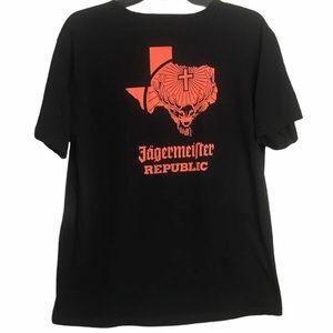 Jagermiester Republic T-Shirt Sz L